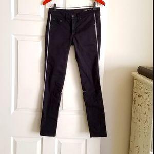 """Rag & Bone 27 *28.5x29"""" Black Jeans Excellent Cond"""